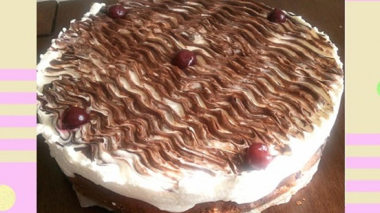 Dunahullám torta szanten konyhájából