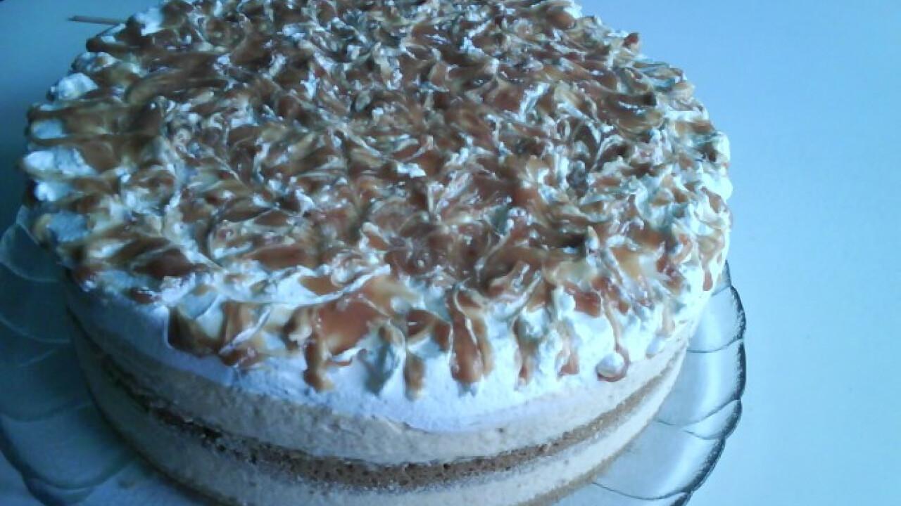 Karamell torta Krisztina konyhájából