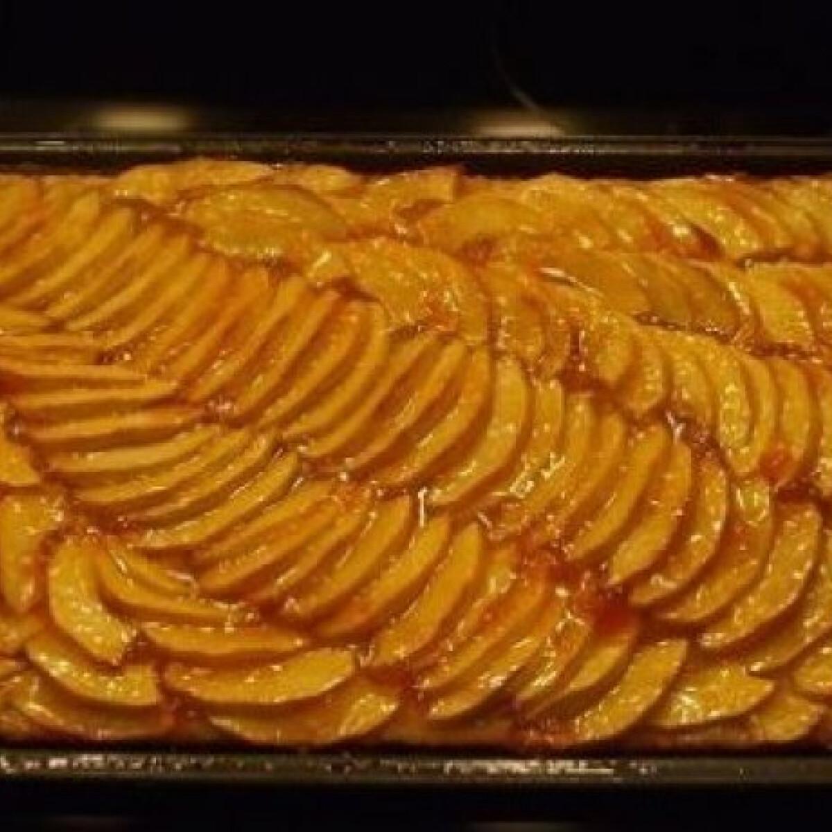 Ezen a képen: Rumos - almás lepény