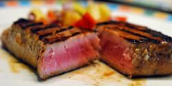 Mézes-szójás vörös tonhalfilé