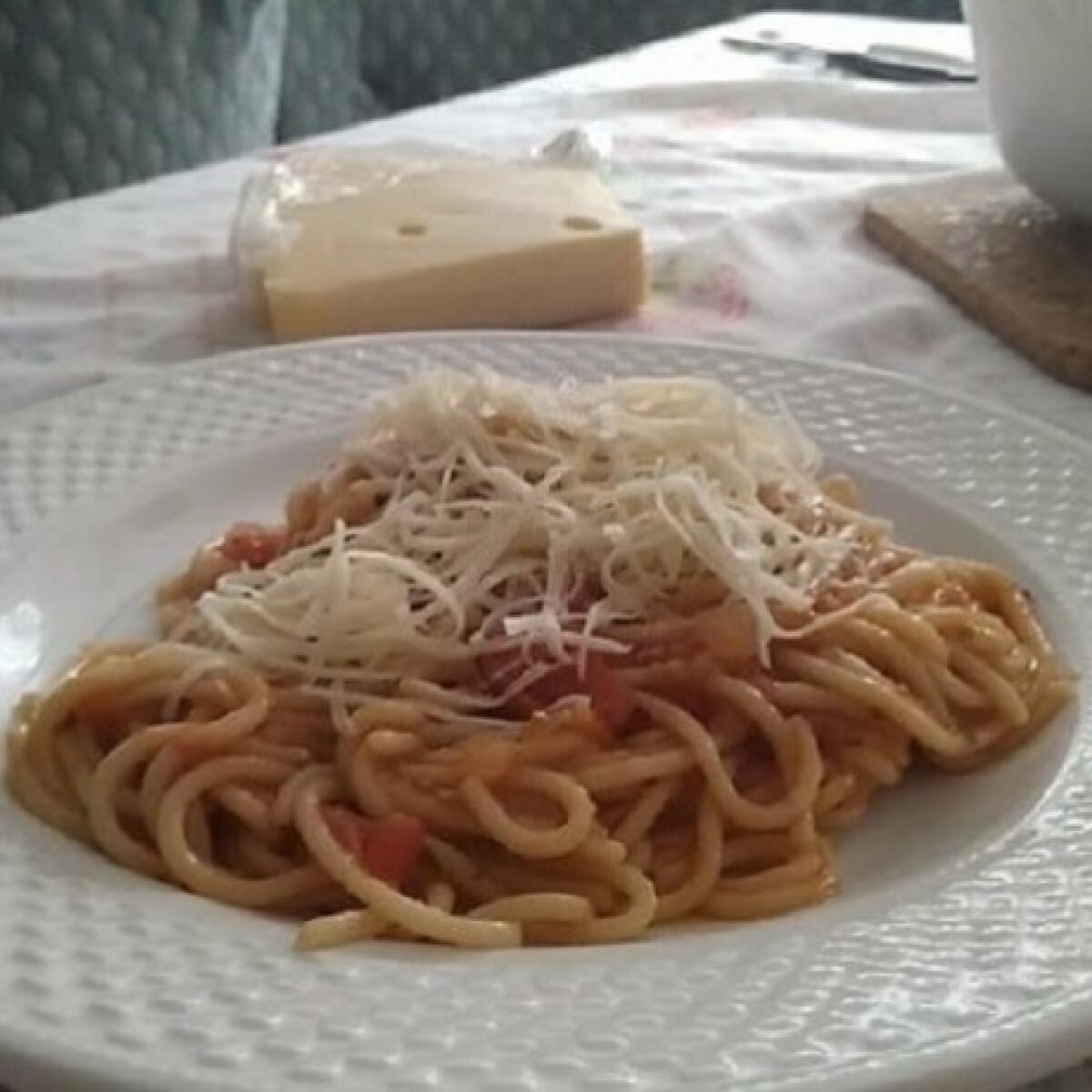Ezen a képen: Pasta all'Arrabbiata Szoffie18 konyhájából