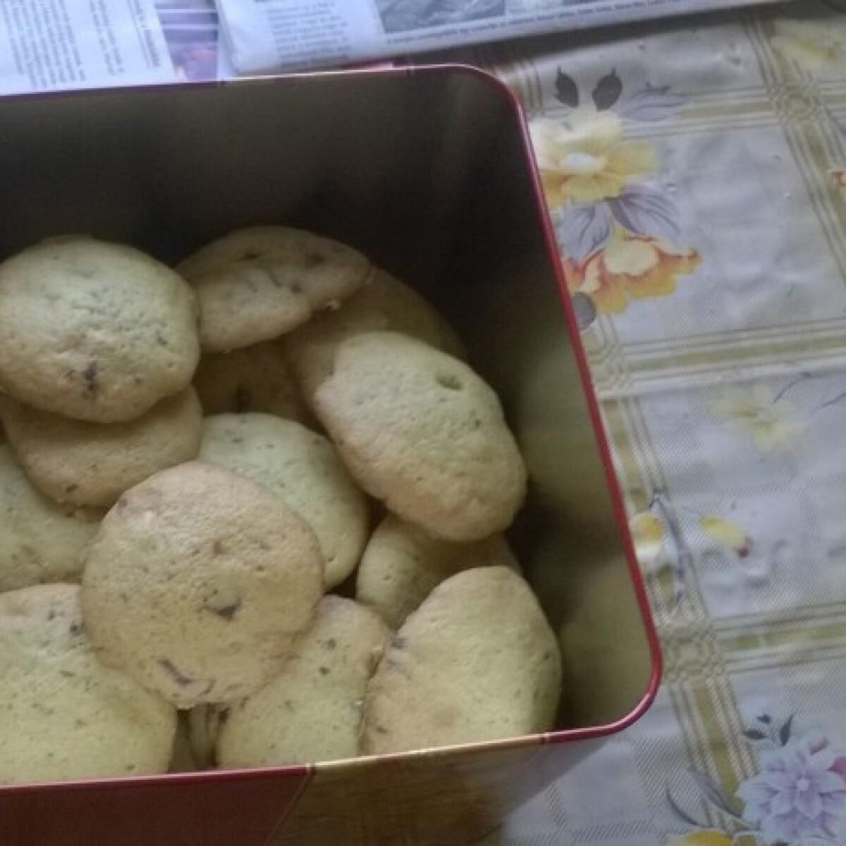 Narancsos-diós cookie