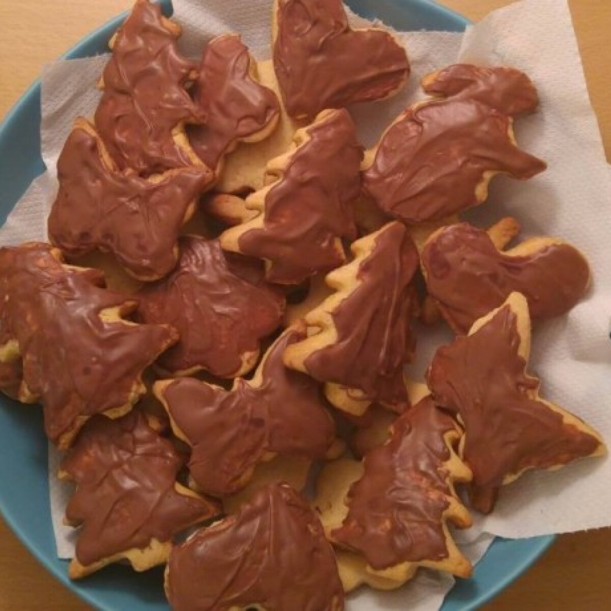 Ezen a képen: Egyszerű ünnepi vaníliás keksz