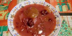 Vaníliapudingos vegyes gyümölcsleves