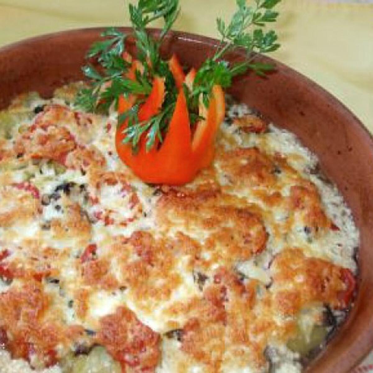 Ezen a képen: Római csirkemáj