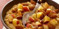 Almás-zabpelyhes diétás reggeli