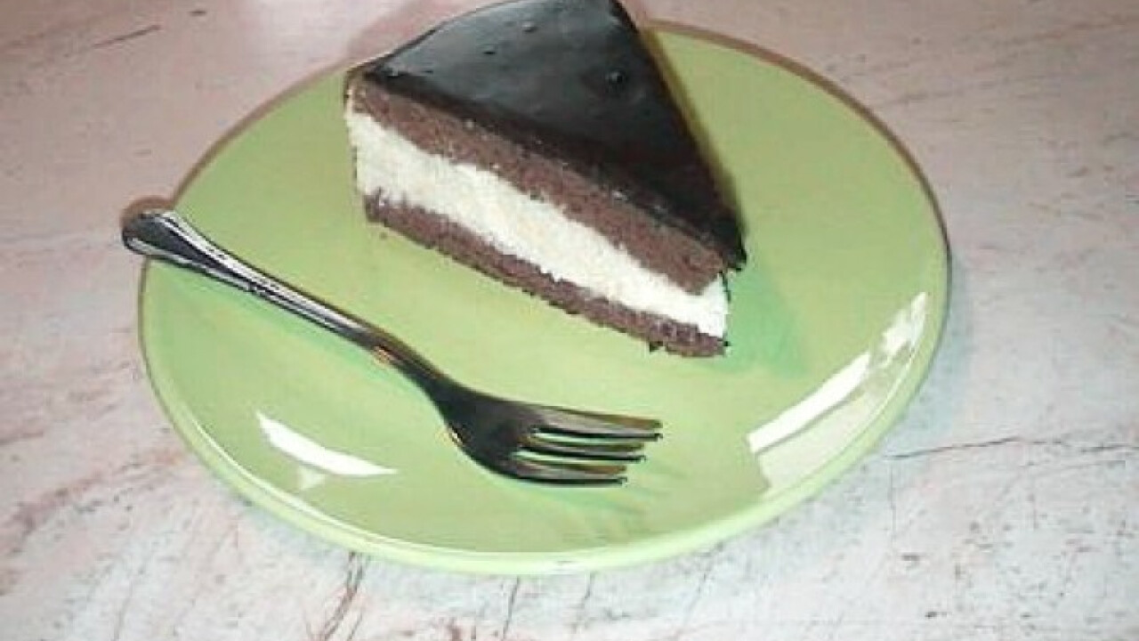 Pudingos-grízes torta