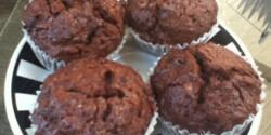 Kakaós-lekváros muffin