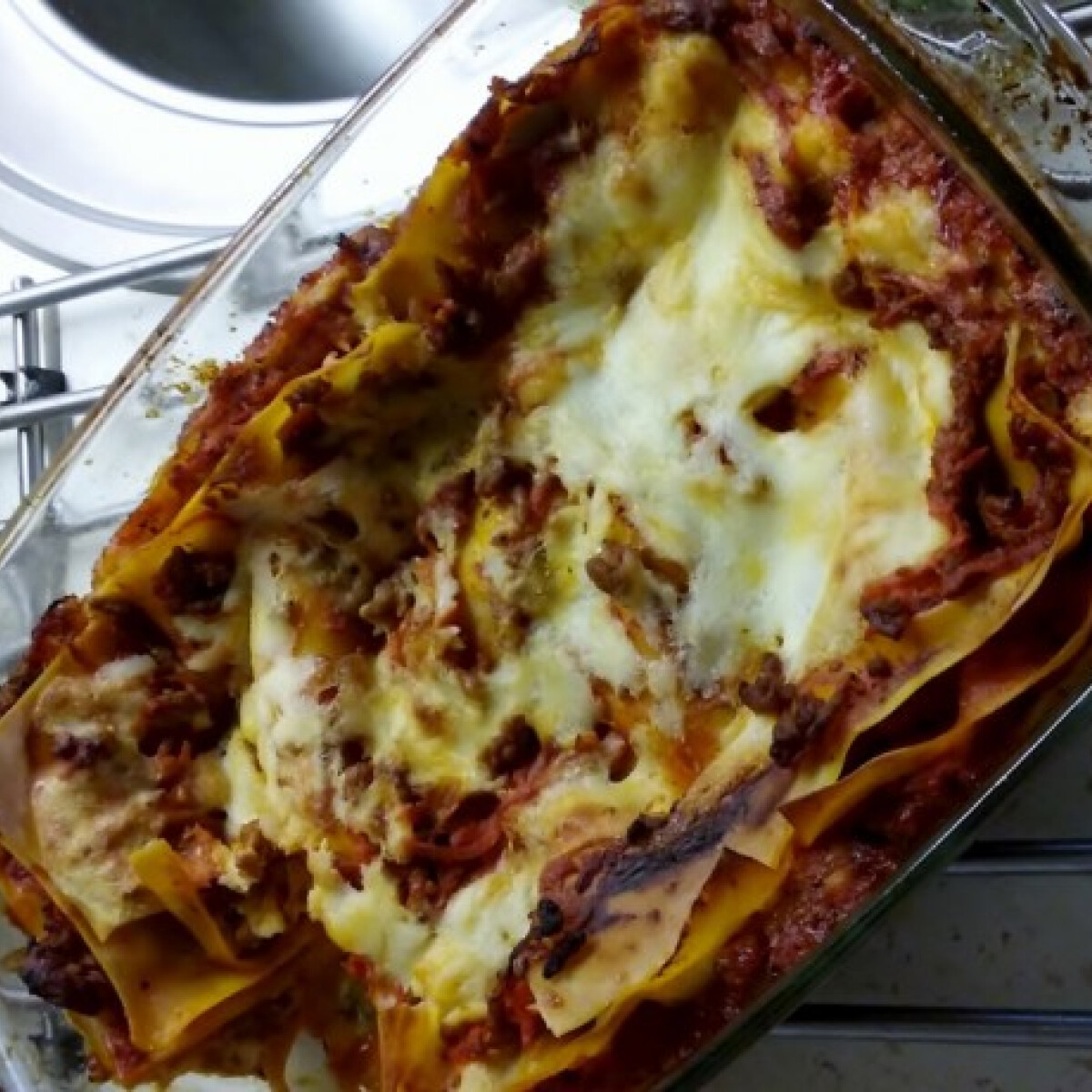 Ezen a képen: Olasz lasagne