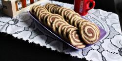 Vaníliás-csokis keksz juharsziruppal