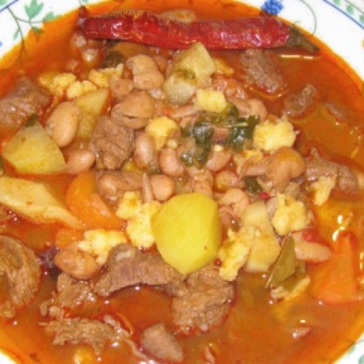 Babgulyás Marcsisef konyhájából