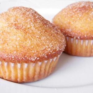 Fahéjas donut muffin