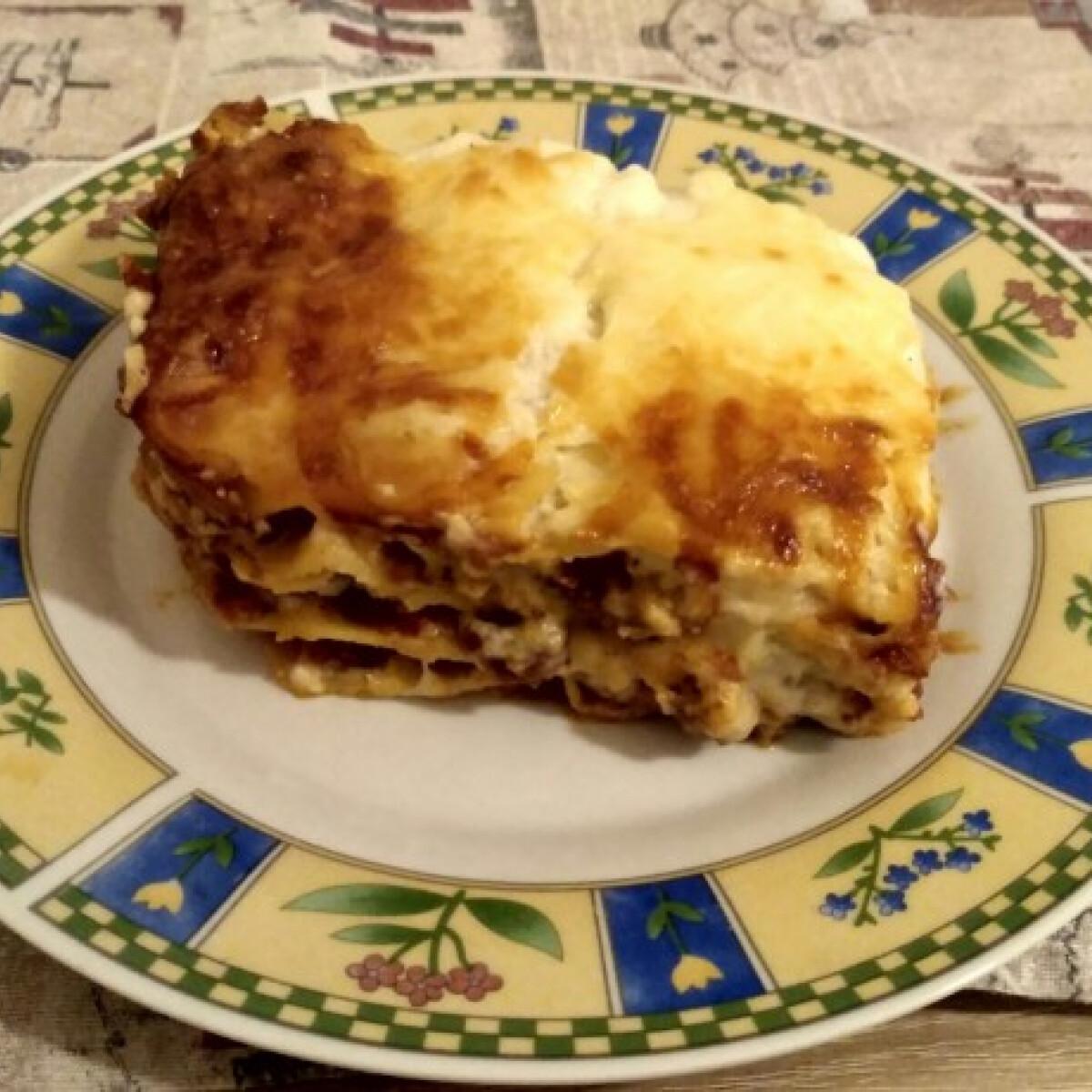 Ezen a képen: Lasagne Séfbácsi konyhájából
