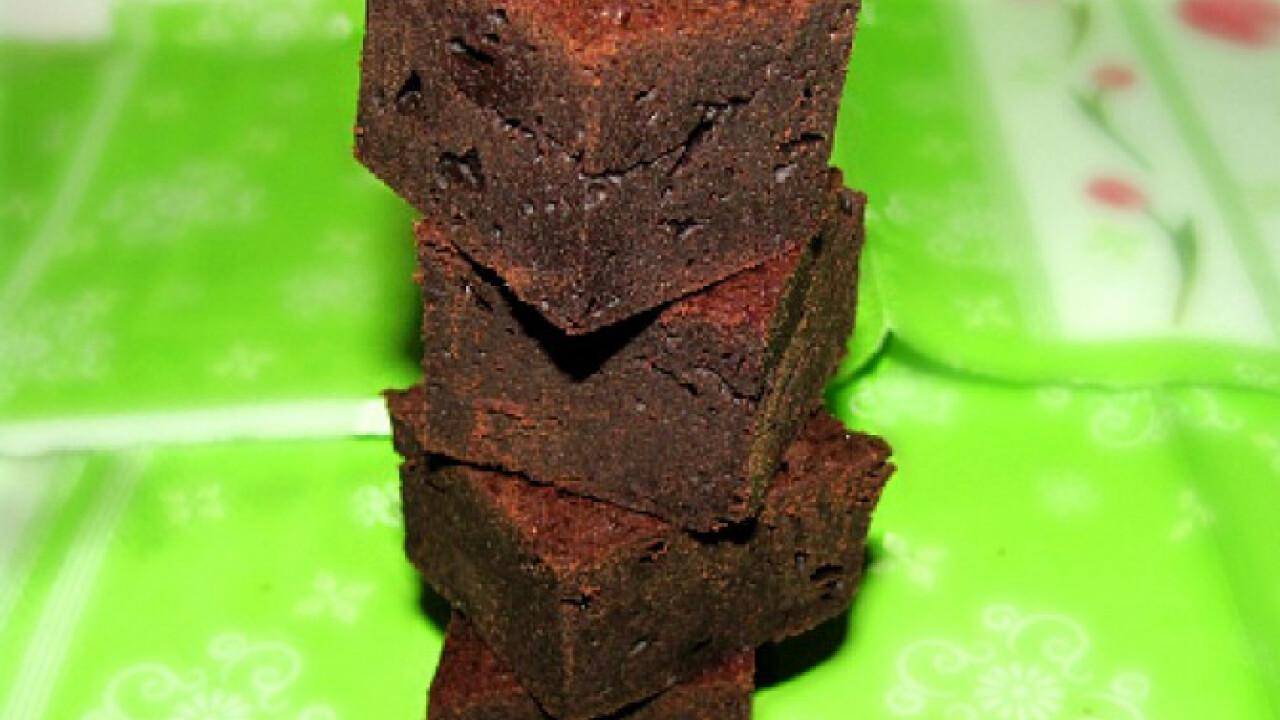 Gesztenyelisztes brownie