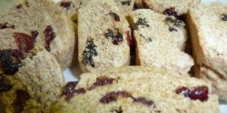 Kardamomos-datolyás biscotti