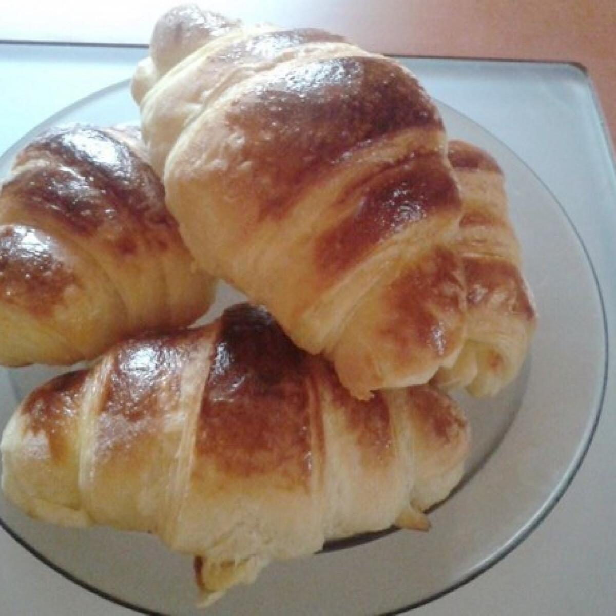 Ezen a képen: Házi croissant