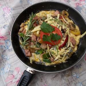 Omelette mediterrane Hobbychef konyhájából