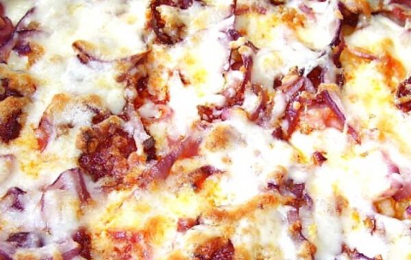Langalló fokhagymás tejföllel és sajttal