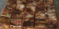 Pudingos-tejfölös sütemény