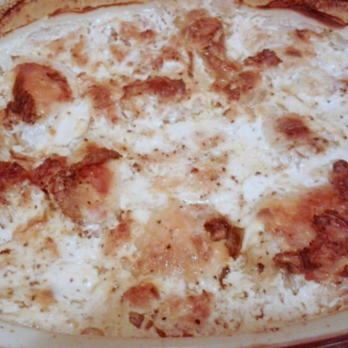 Tejszínben sült csirkecombok