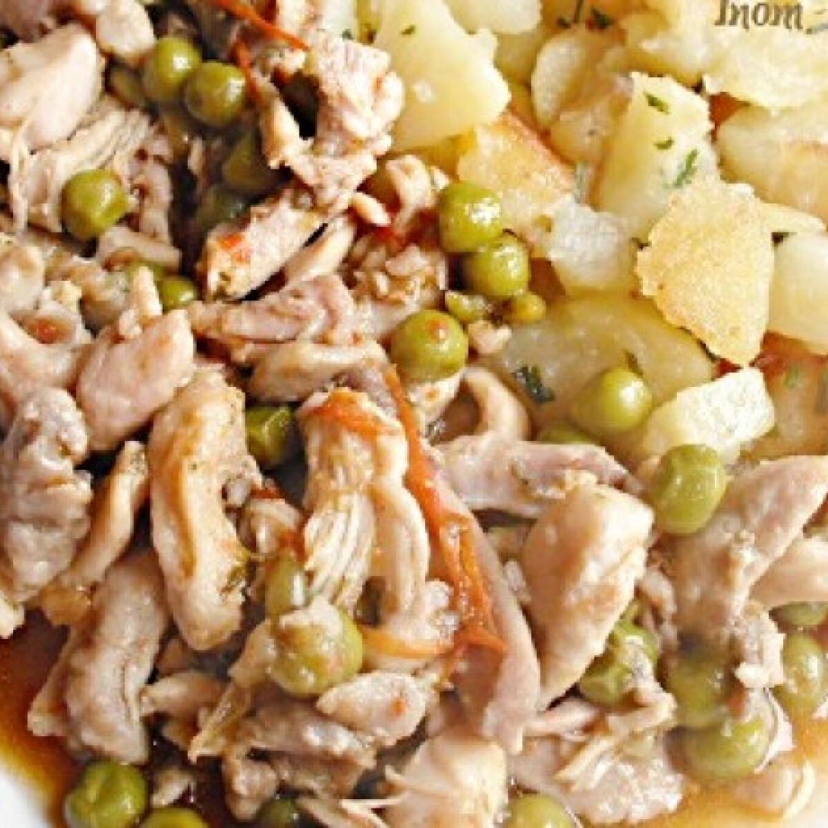 Ezen a képen: Csopaki aprópecsenye Inom konyhájából