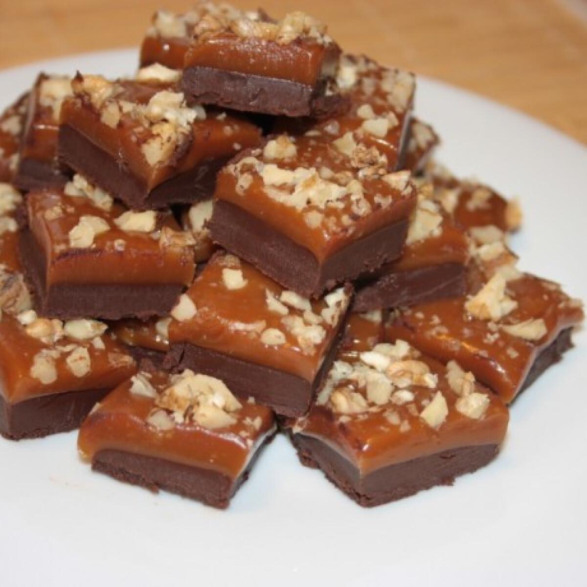 Csokoládés-diós vajkaramella