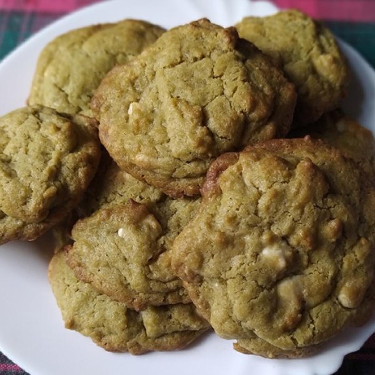 Ezen a képen: Matcha keksz