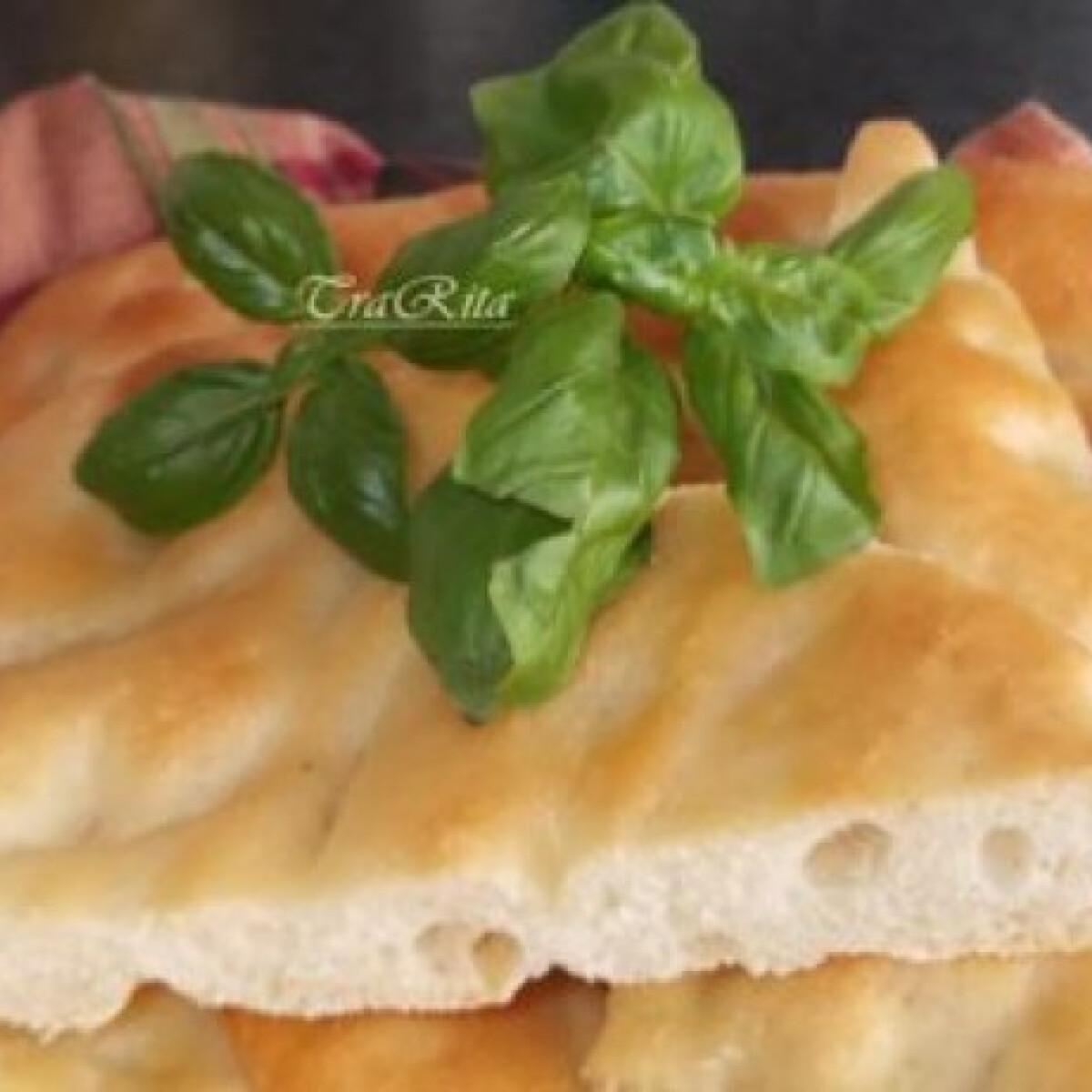 Ezen a képen: Focaccia TraRita konyhájából