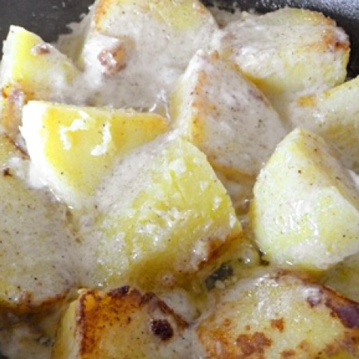 Ezen a képen: Joghurtos krumpli