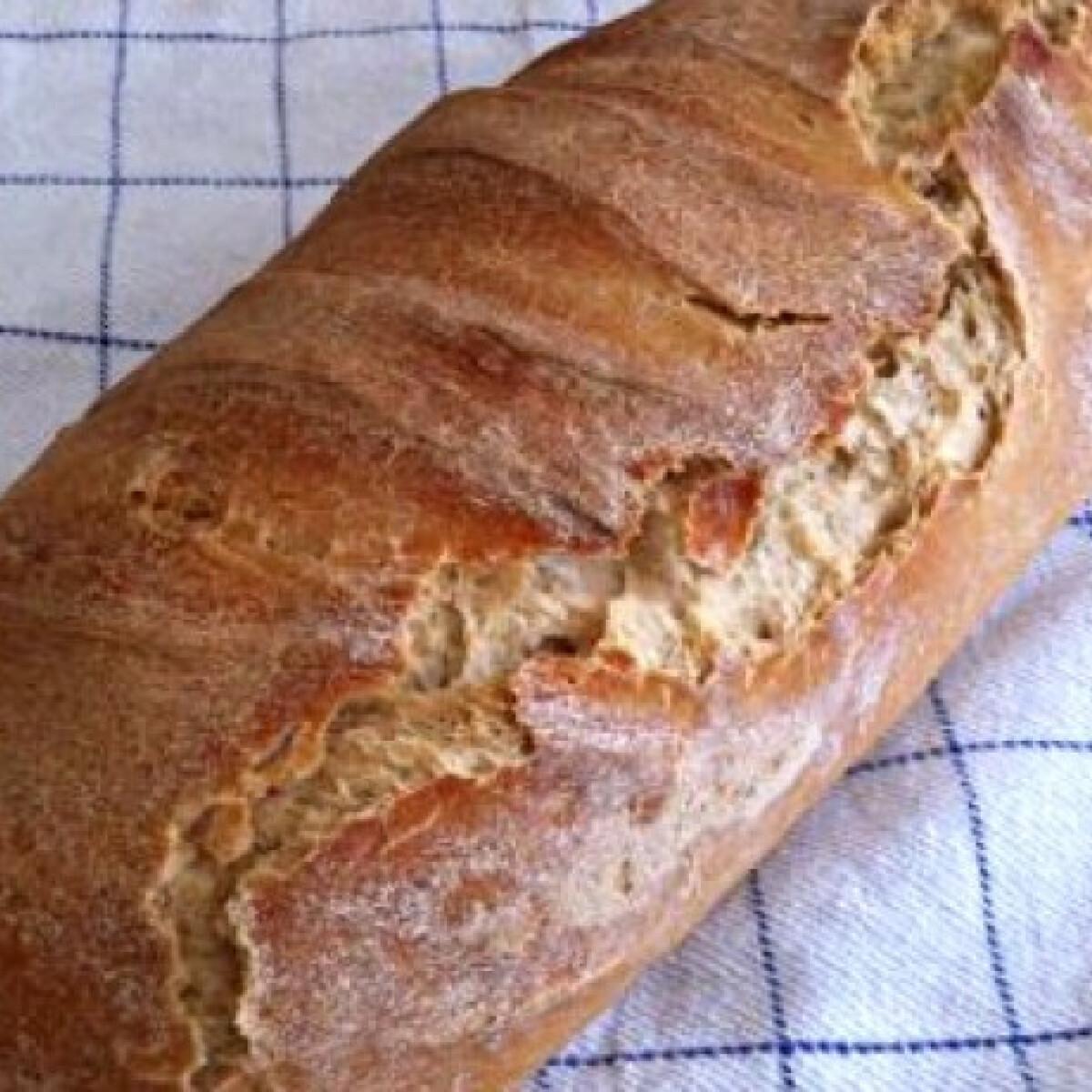 Ezen a képen: Éjszakás kenyér öregtésztával