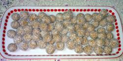 Fehércsokis-kókuszos golyók