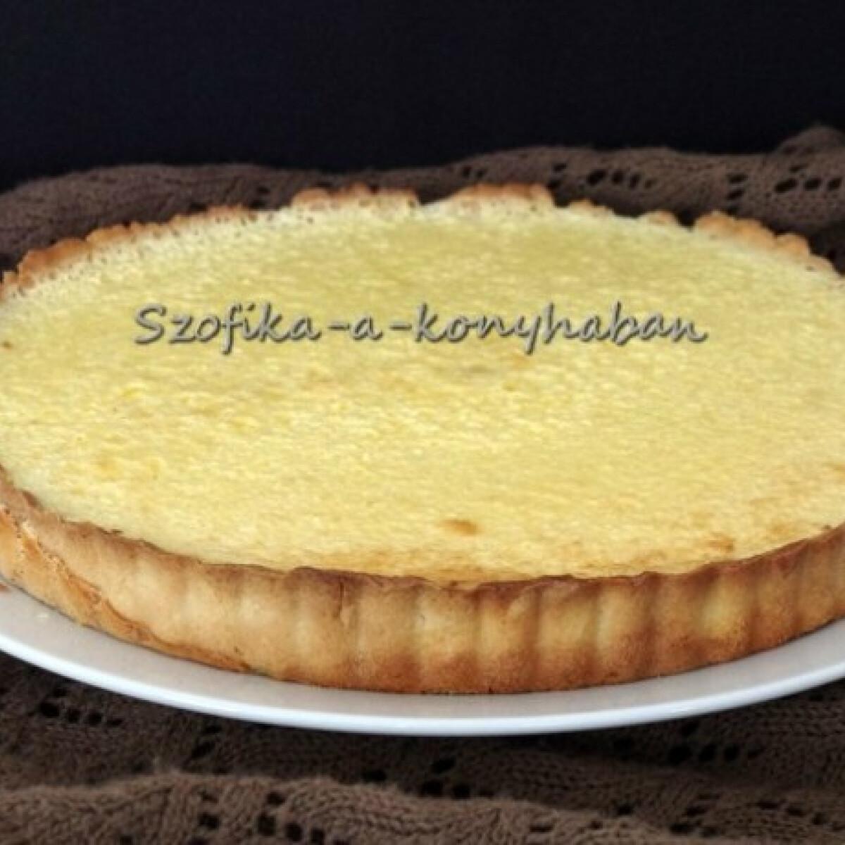 Ezen a képen: Tarte au citron - Szofikától