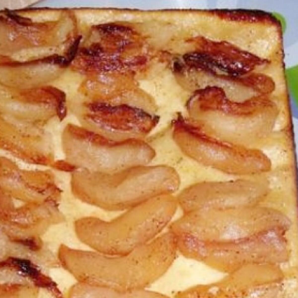 Ezen a képen: Tarte Tatin - fordított almáslepény