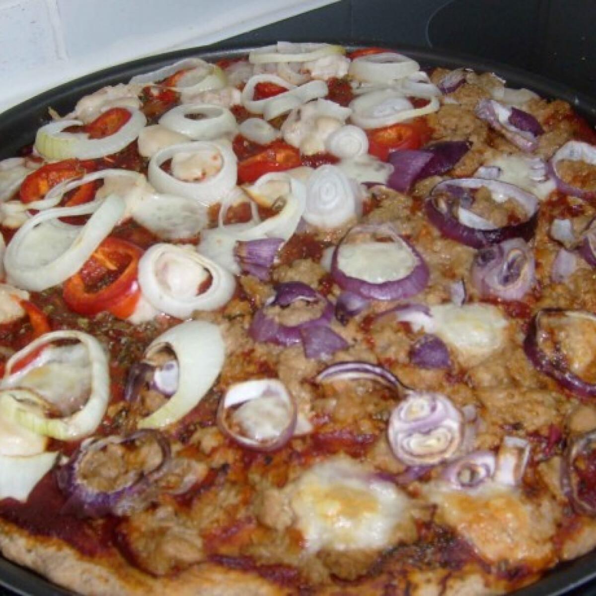 Ezen a képen: Pizza diétásan