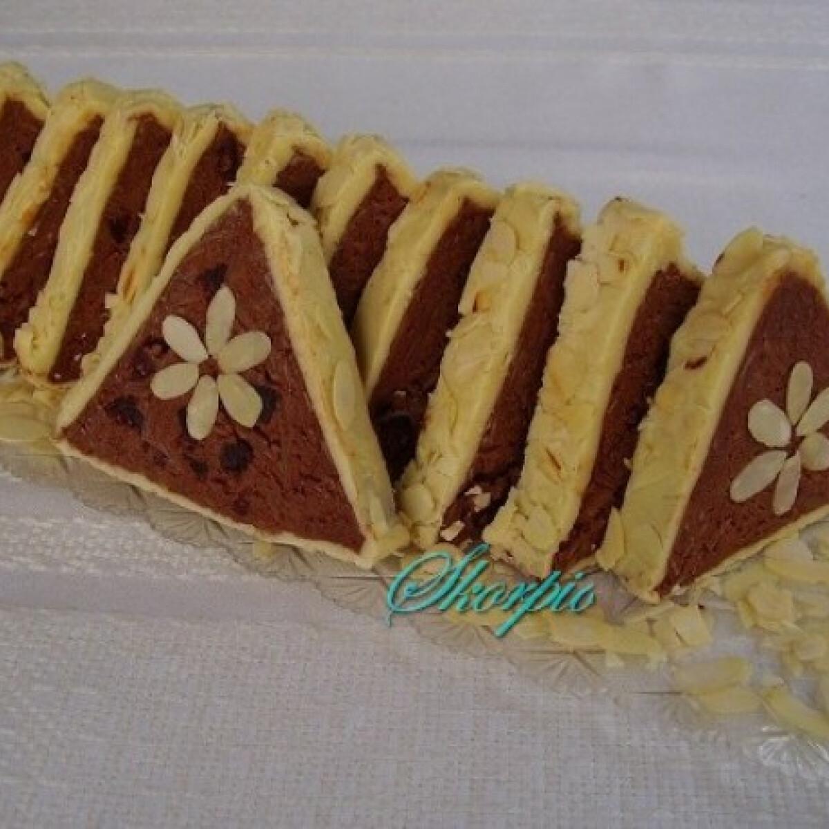 Ezen a képen: Csokoládés-áfonyás torrone