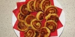 Gyömbéres krumplitekercs