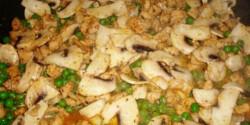 Borsós-gombás csirkemell