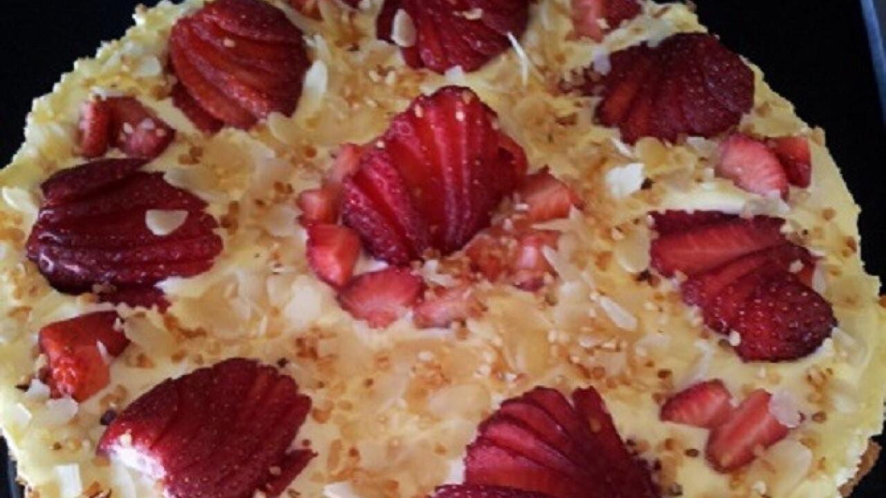 Epres tiramisu torta sütés nélkül