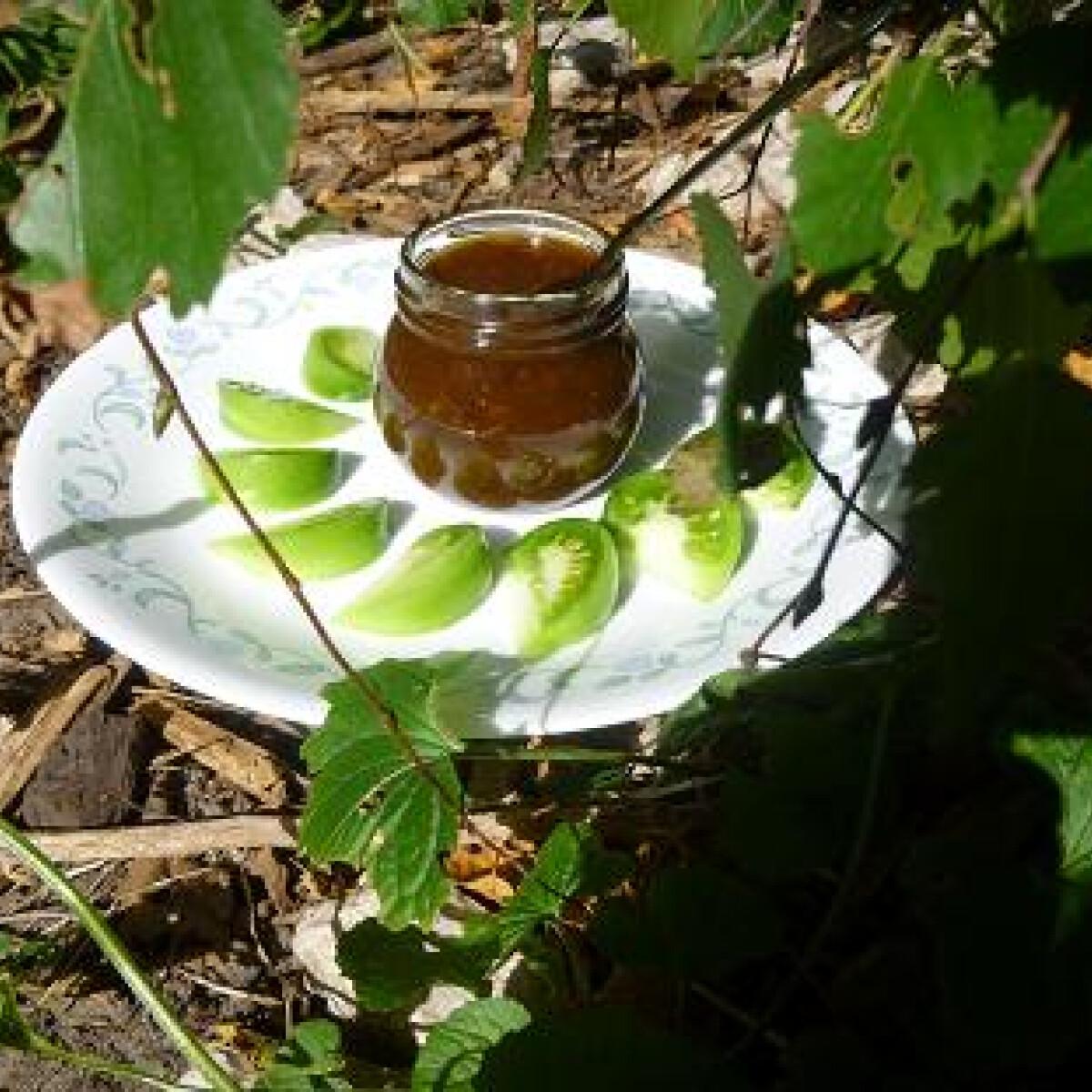 Ezen a képen: Zöldparadicsom chutney