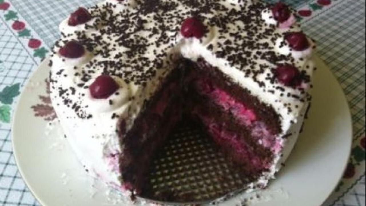 Kirsch torta adromelke konyhájából