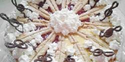 Mogyorós-mascarponés torta Zila formában