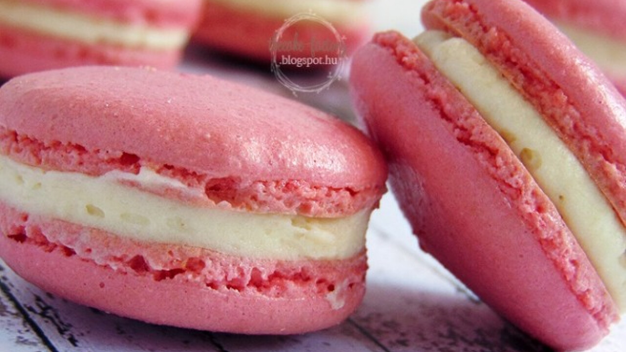 Macaron alaprecept a The Cake Factory-tól