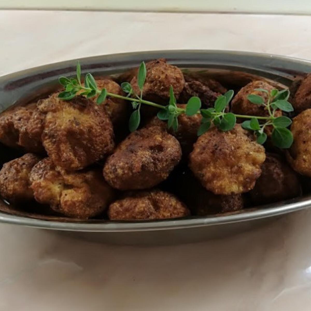 Ezen a képen: Padlizsánkrémes csirkefasírt