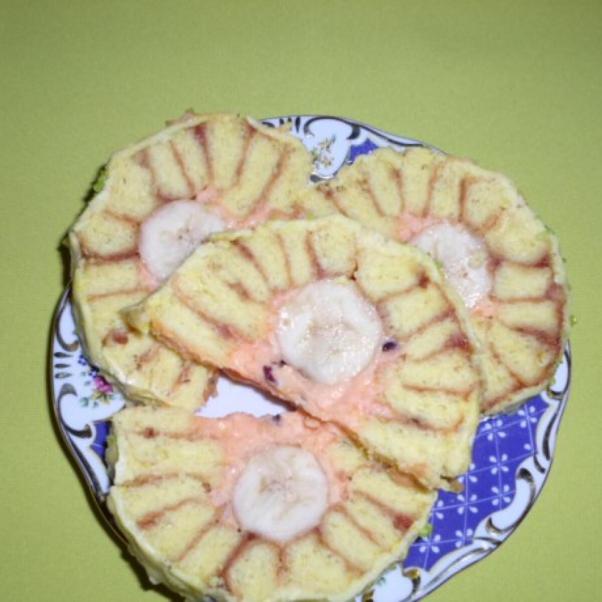 Ezen a képen: Pudingos-banános alagút