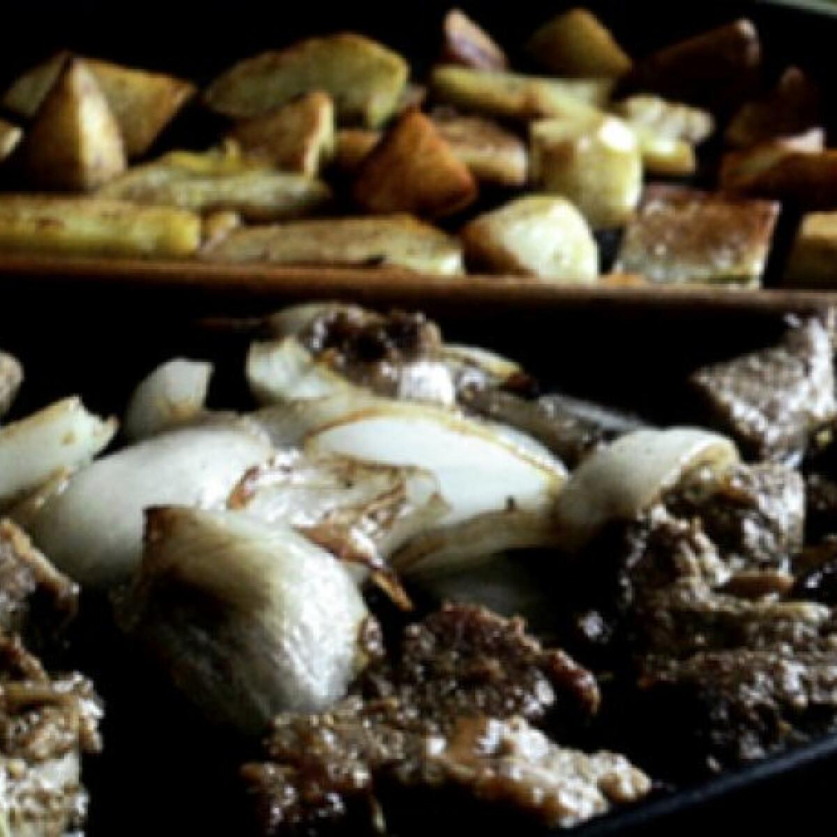 Ezen a képen: Fűszeres sertéskaraj wokban