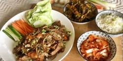 Bulgogi – koreai BBQ