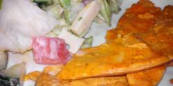 Joghurtos csirke salátával