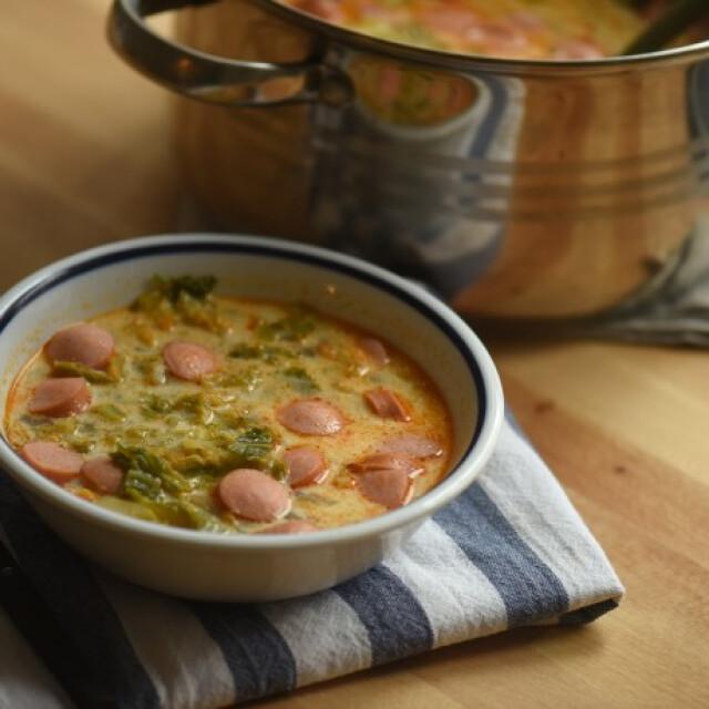 kelkáposzta leves recept)