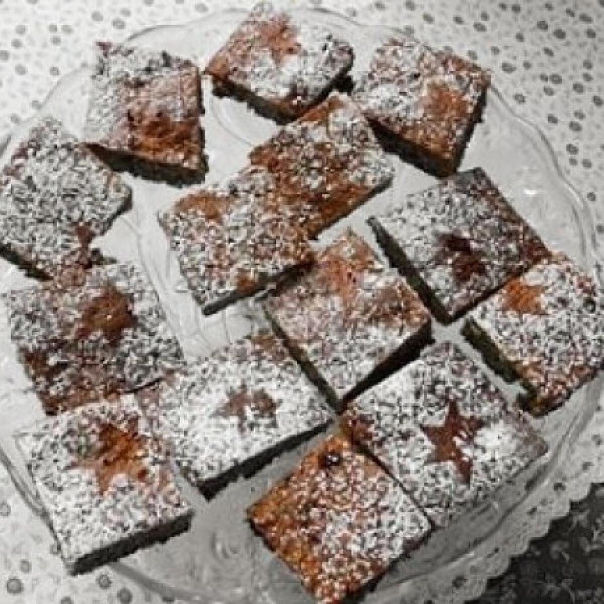 Ezen a képen: Mákos sütemény 2. - cukormentes