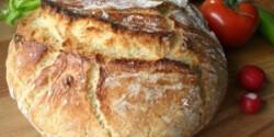 Dagasztás nélküli kenyér 4.